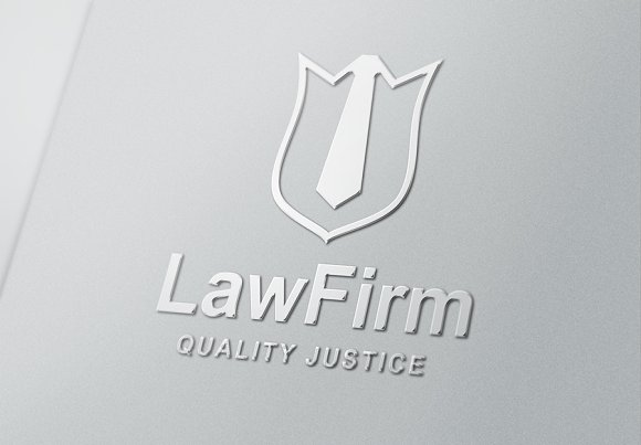 Law Logo Template in Logo Templates
