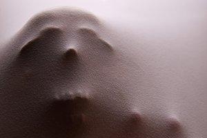 Human Skull Impression