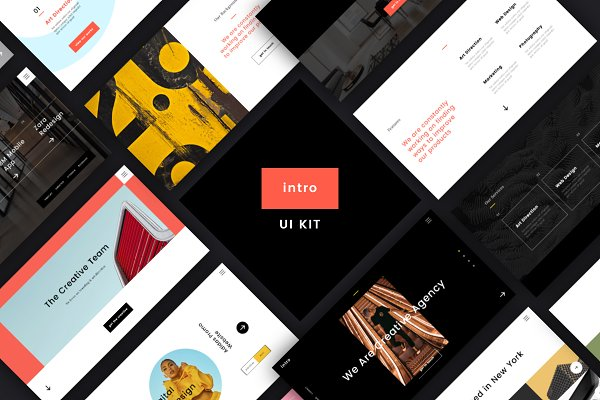 Website Templates: uispot - Intro UI Kit