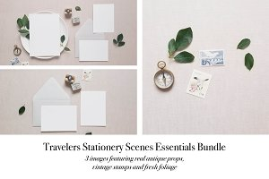 Neutral Stationery 3 Mockups V.2