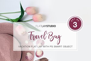 TRAVEL MOCKUP FLAT LAY - #13