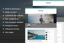 Valcon - Responsive WP Blog Theme