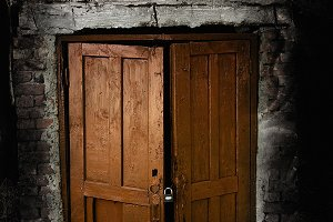 Creepy Old Doors