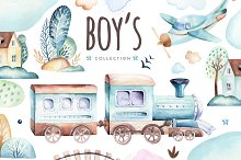 Boy's world.  It's a boy collection!