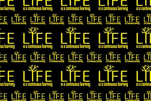 Life and Learn Concept Pattern