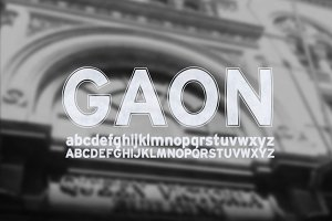 Font | GAON