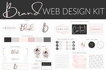 Web Branding Kit - Feminine Blush
