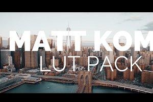 Matt Komo Style LUT Presets