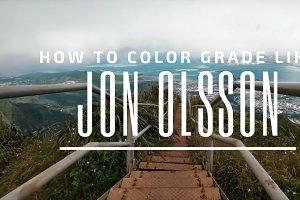 Jon Olsson Style LUT Presets