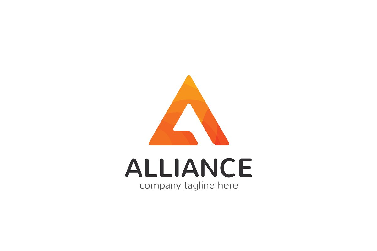 Alliance Letter A Logo