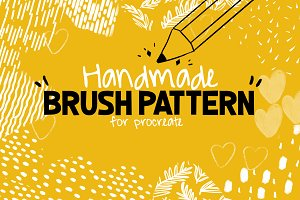 Handmade Brush Pattern - Procreate