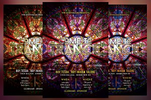 Come to Trance Flyer