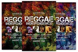 Reggae Indiependence Flyer