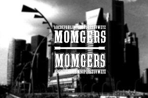 Font | 2 fonts - Momgers College