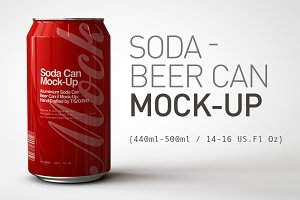 Soda Can | Beer Can Mock-Up 2