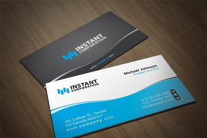 Corporate Business Card 8
