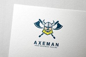 Axeman Viking Logo