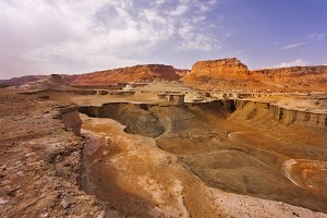 Canyon about the Dead Sea