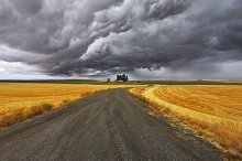 TThunder-storm above Montana by  in Nature