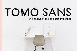 TomoSans Sans Serif Typeface