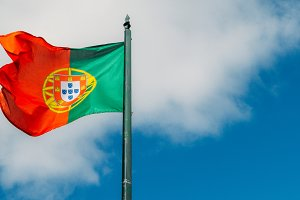 Beautiful large Portuguese flag