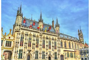 The City Hall of Bruges in Belgium