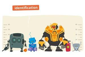 Robot identification illustration