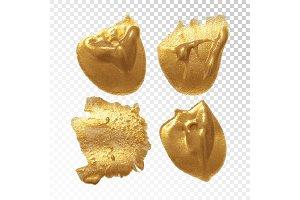 Gold spot set