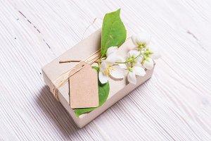 Brown Cardboard Gift Box