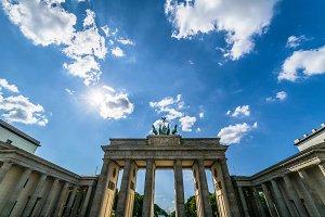 Brandenburger Tor / Brandenburg Gate