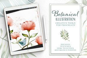 Procreate Botanical Illustration Kit