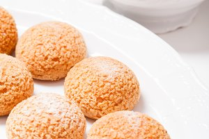 Cream puff choux dessert