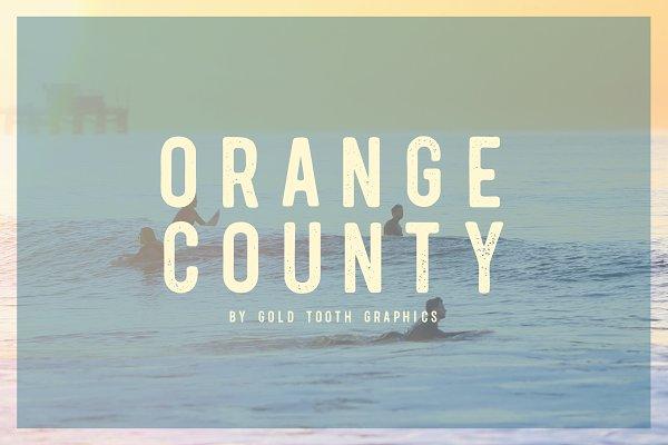 Orange County - Sans Serif