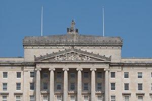 Stormont Parliament Buildings in Belfast