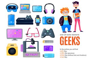 Tech Geeks Set