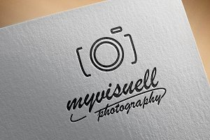 Logo Design Photography Camera