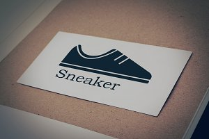 Sneaker Logo Design Business