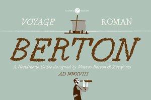 Berton - 2 fonts