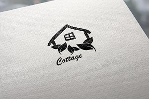 Cottage Logo Design Nature