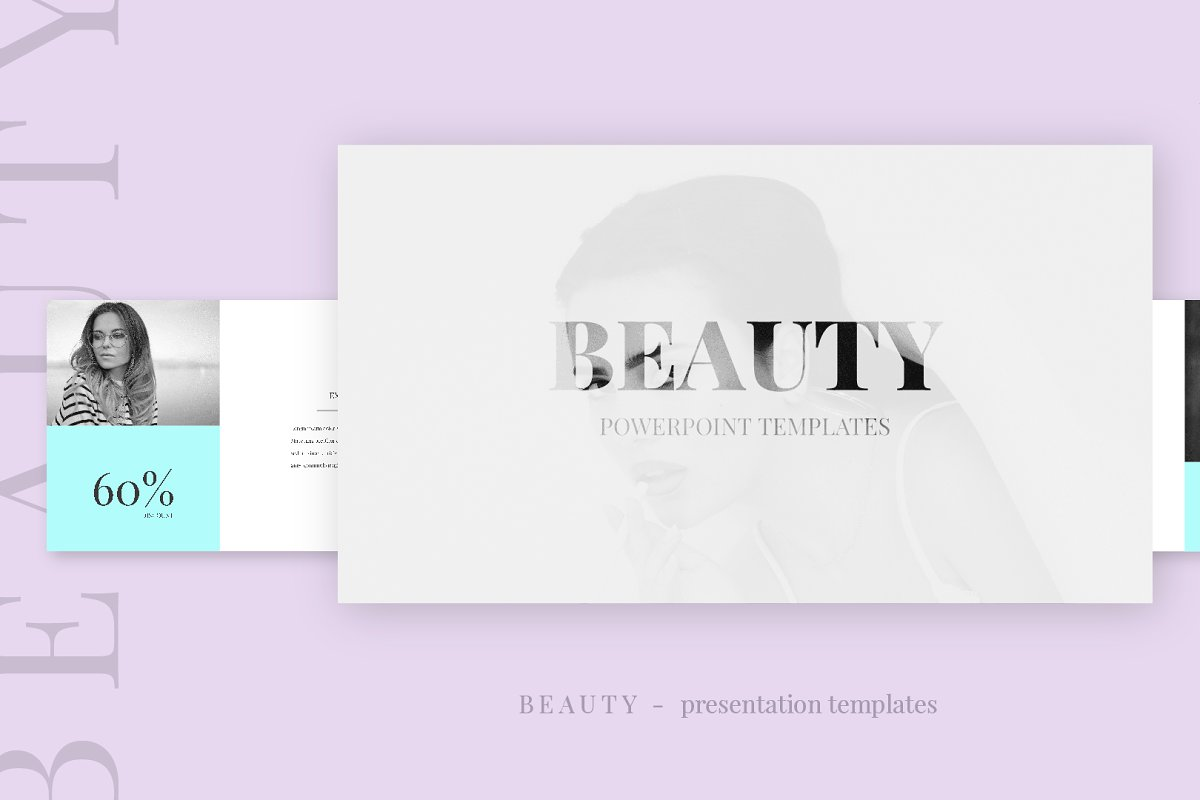 Beauty Template Presentation Ppt Powerpoint Templates