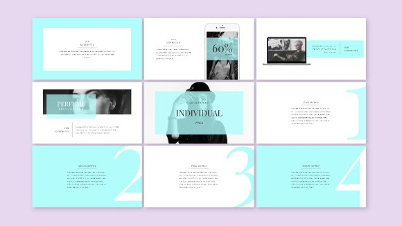 BEAUTY - template presentation PPT