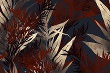 leaves seamless pattern | JPEG