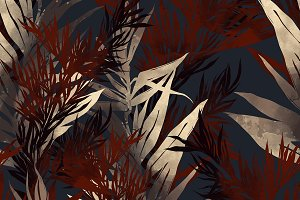 leaves seamless pattern | JPEG