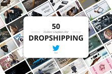 Twitter Dropshipping Graphics by  in Social Media