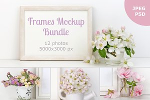Picture Frames Mockup Bundle