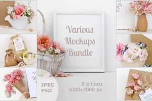 Mockups Bundle for your Graphics