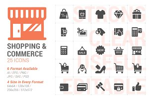 Shopping & Commerce Filled Icon
