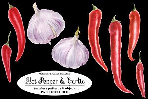 Red Hot Pepper and Garlic