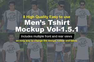 Mens Tshirt Mockup Vol-1.5.1
