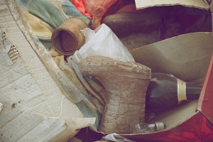 Abandoned stuff - waste